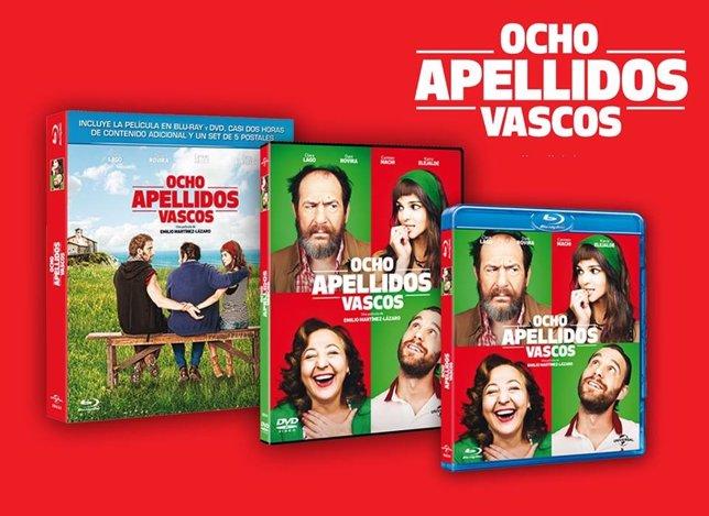 Tres DVDs de Ocho Apellidos Vascos... ¡Firmados por Clara Lago!