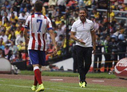 """Simeone: """"Se hizo un buen partido, estamos trabajando de menos a mas"""