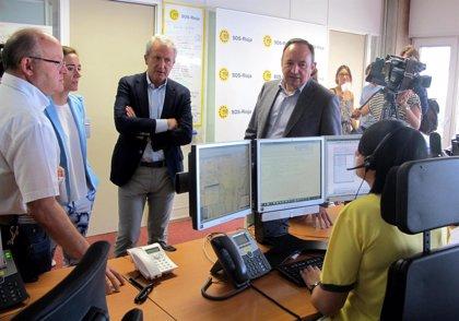 El Centro Operativo SOS Rioja registra en el primer semestre 56.906 incidencias, 5.091 más que en el año anterior