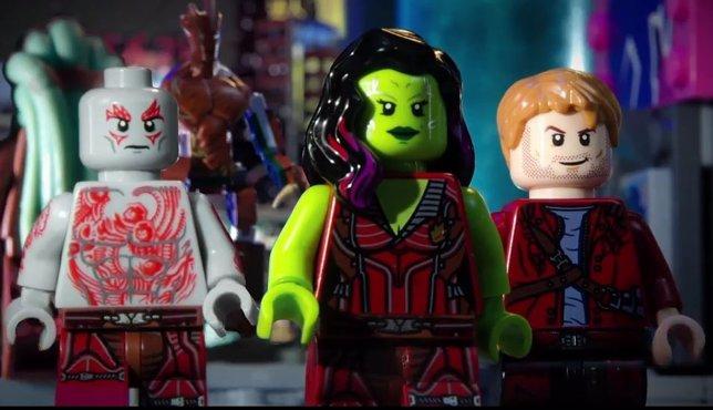 Guardianes de la galaxia en LEGO