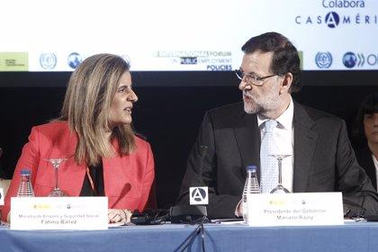 """Rajoy espera que la mejora del empleo se """"acelere"""""""