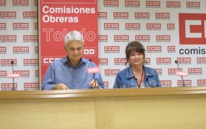 """CCOO no ve razones para que salgan """"más recortes"""" para C-LM del CPFF"""