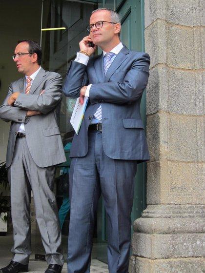 """El conselleiro Jesús Vázquez """"respeta"""" el fallo contra José Luis Baltar y señala que él debe """"analizarlo y decidir"""""""