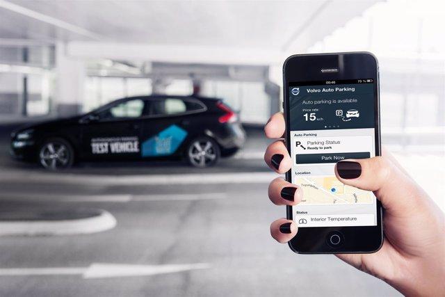 Aparcamiento autónomo de Volvo