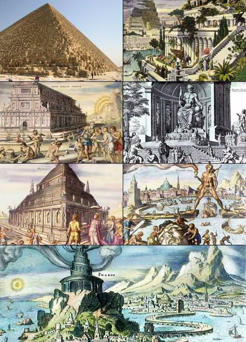 7 maravillas antiguas
