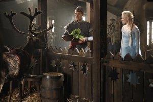 Elsa y Kristoff en Once Upon A Time