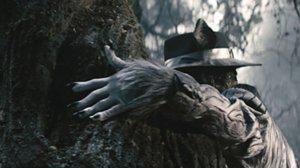 El Lobo Feroz (Johnny Depp) en Into The Woods