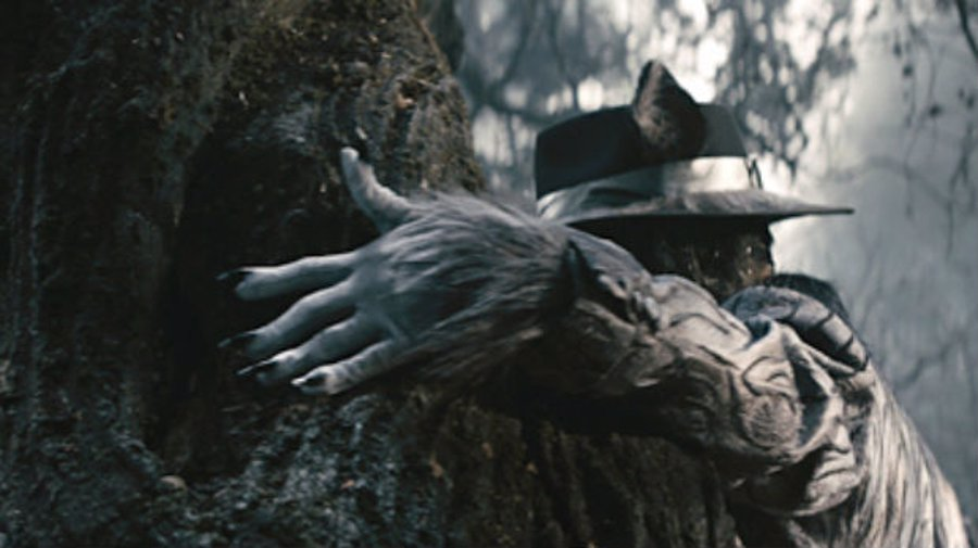 El Lobo Feroz (Johnny Depp) en Into The Woods
