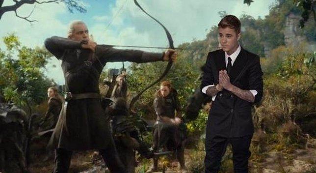 Legolas contra Justin Bieber