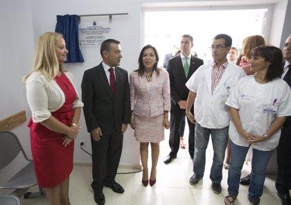 Rivero inaugura el nuevo consultorio local de La Atalaya de Santa Brígida, en Gran Canaria