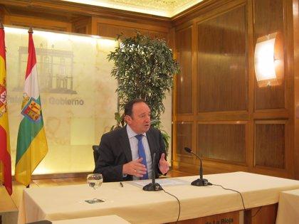 """Pedro Sanz asegura que en La Rioja """"se ha producido un cambio de ciclo económico basado en hechos y datos contrastados"""""""