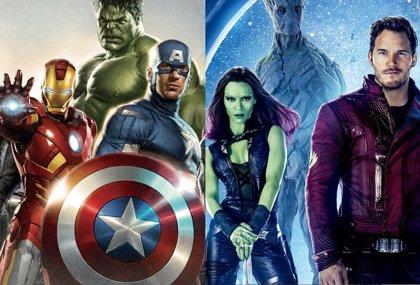 Habrá crossover entre Guardianes de la galaxia y Los Vengadores