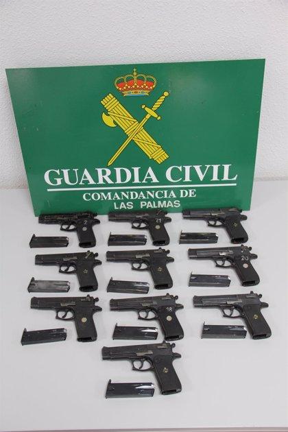 Los dos detenidos por robo de armas en la Base Naval de Las Palmas de Gran Canaria tenían antecedentes