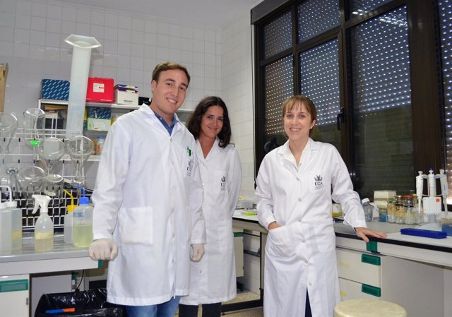 Investigadores de la UCA participantes en el estudio