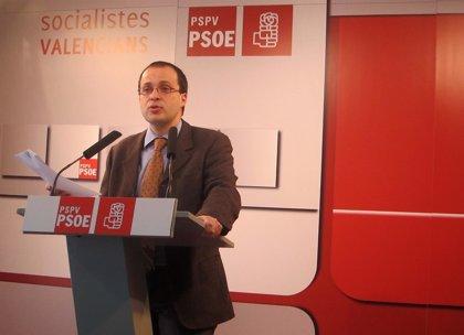 """PSPV acusa de Fabra de intentar """"ganar tiempo aceptando que el Gobierno aplace las grandes decisiones de financiación"""""""