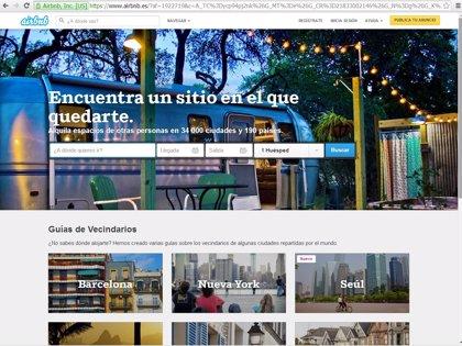 Los huéspedes de Airbnb en Europa consumen un 78% menos de energía que los de alojamientos tradicionales