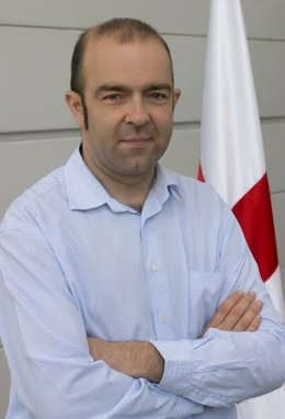 El presidente de Cruz Roja Navarra, Joaquín Mencos.