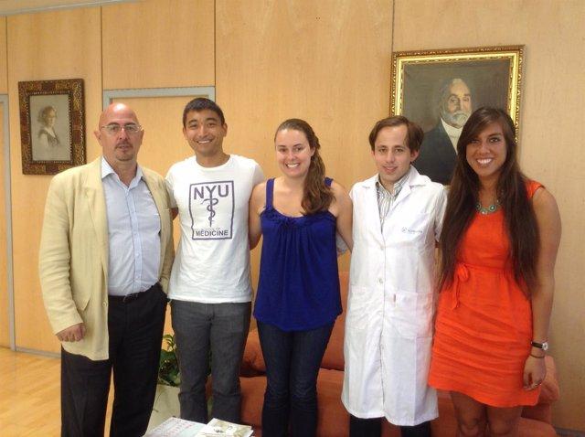 Alumnos de New York University en Valdecilla
