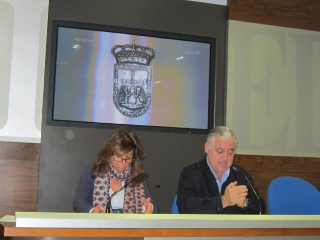 Andrés Llavona y Belén Arganza