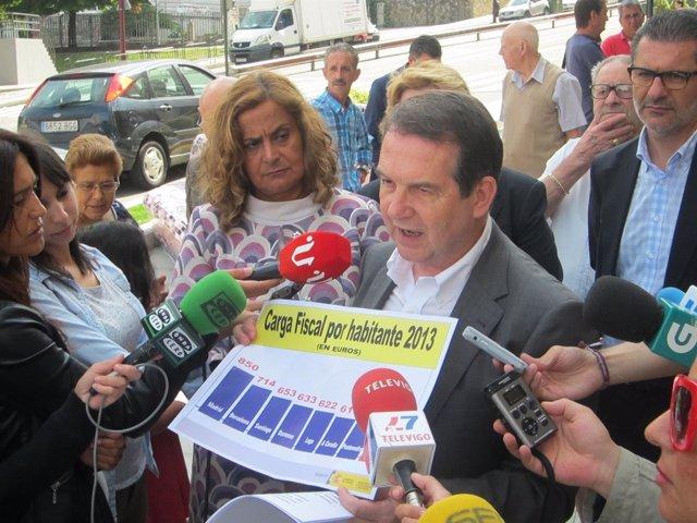 Alcalde de Vigo presenta las ordenanzas fiscales 2015