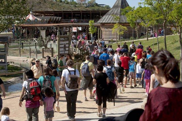 Visitantes en Sendaviva