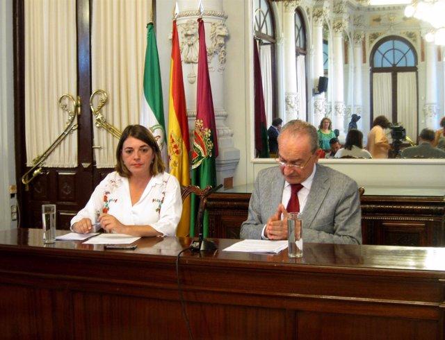Elena Cortés y Francisco de la Torre en Málaga