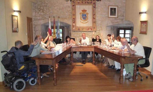 Pleno del Ayuntamiento de San Vicente