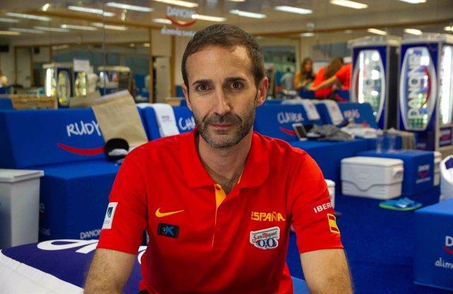 El entrenador ayudante Sito Alonso de la selección española de baloncesto