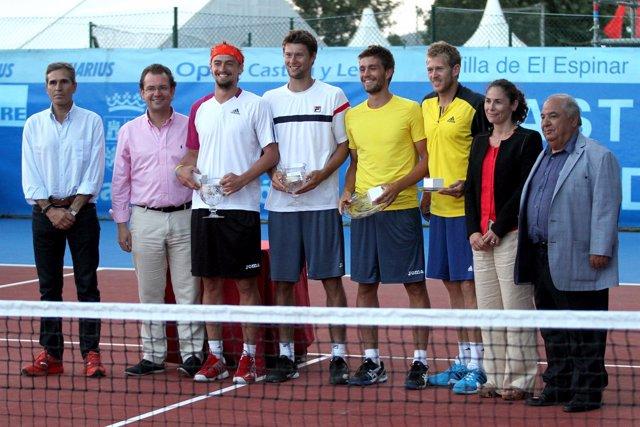 Los rusos Baluda y Kudryavtsev, campeones de dobles en El Espinar