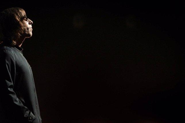 El cantante de la banda británica Oasis Liam Gallagher