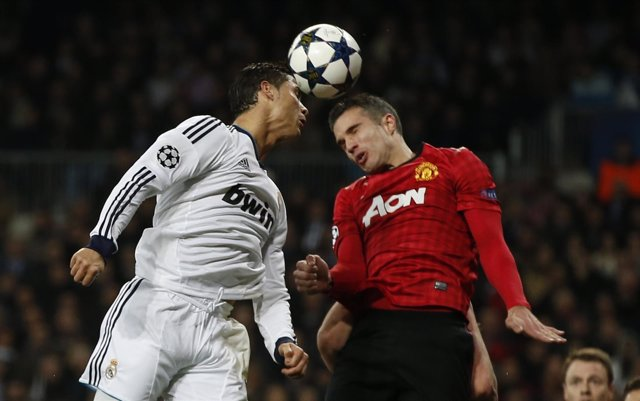 Manchester United y Real Madrid