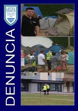 Denuncia de Avispa por intrusismo profesional en el festival de Salinas