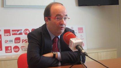 Iceta cree que el caso Pujol afecta al catalanismo en su conjunto y exige transparencia