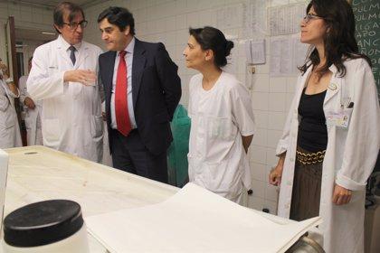 Echániz visita las obras de Anatomía Patológica del Hospital de Toledo