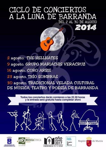 El Museo de Música Étnica acoge el ciclo de conciertos 'A la luna de Barranda'