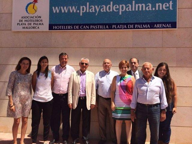 Convenio entre Hoteleros Playa de Palma y Es Refugi