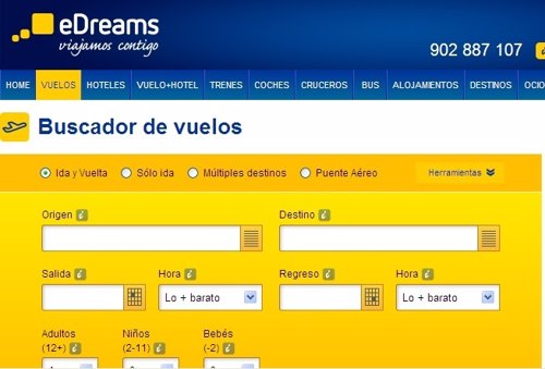 Web eDreams