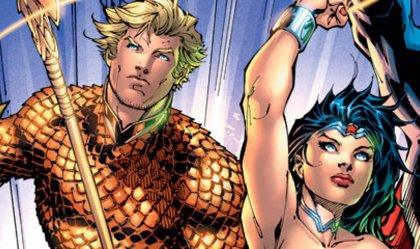 ¿Jason Momoa entrenando junto a Gal Gadot para Batman v Superman?