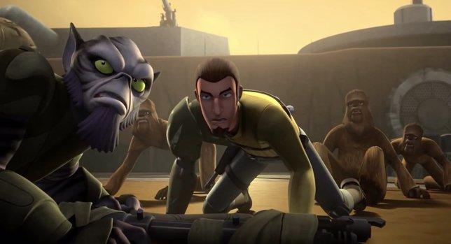 Primeros siete minutos de Star Wars Rebels