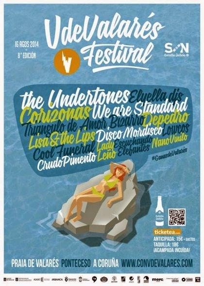 The Undertones, Depedro y Corizonas en el Festival V de Valarés