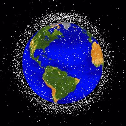 La basura espacial crece en 250 objetos en los primeros 6 meses del año
