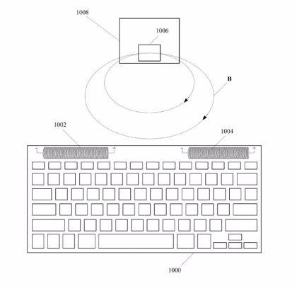 Apple quiere que el teclado y el ratón reciban la energía sin cables