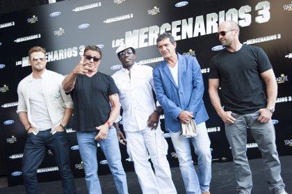 'Los Mercenarios' de Stallone recalan en Marbella