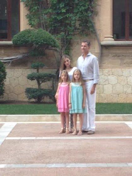 """El Rey Felipe VI agradece su estancia en Mallorca porque es """"un trozo de cielo en la tierra"""""""