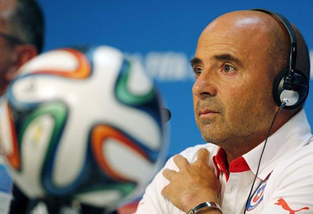 El seleccionador de Chile, Jorge Sampaoli