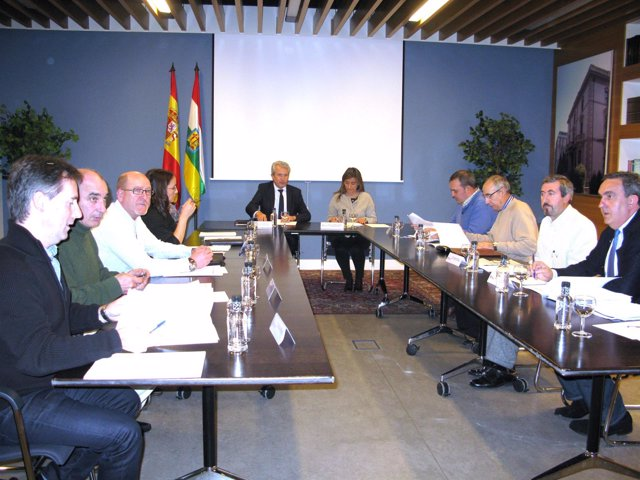 Del Río reunión jefes policía local
