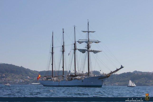 Buque-escuela 'Juan Sebastián Elcano'