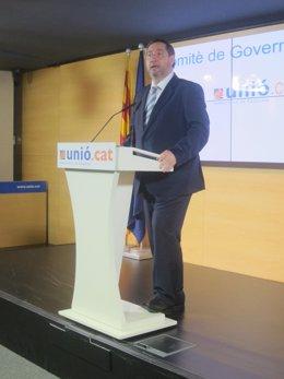 Josep Maria Pelegrí, UDC