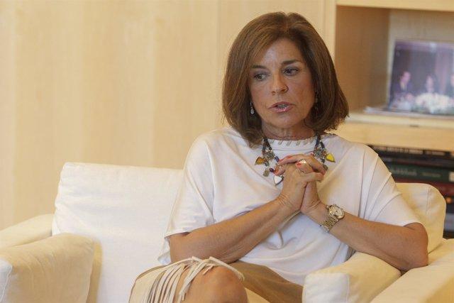 La alcaldesa de Madrid, Ana Botella