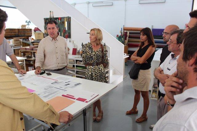 El portavoz municipal socialista, Juan Espadas, en Arte Sacro